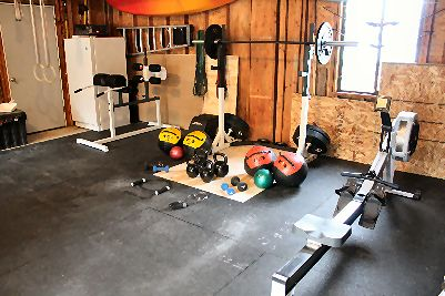 Unless You Have An Awesome Garage Gym Like The One Pictured You
