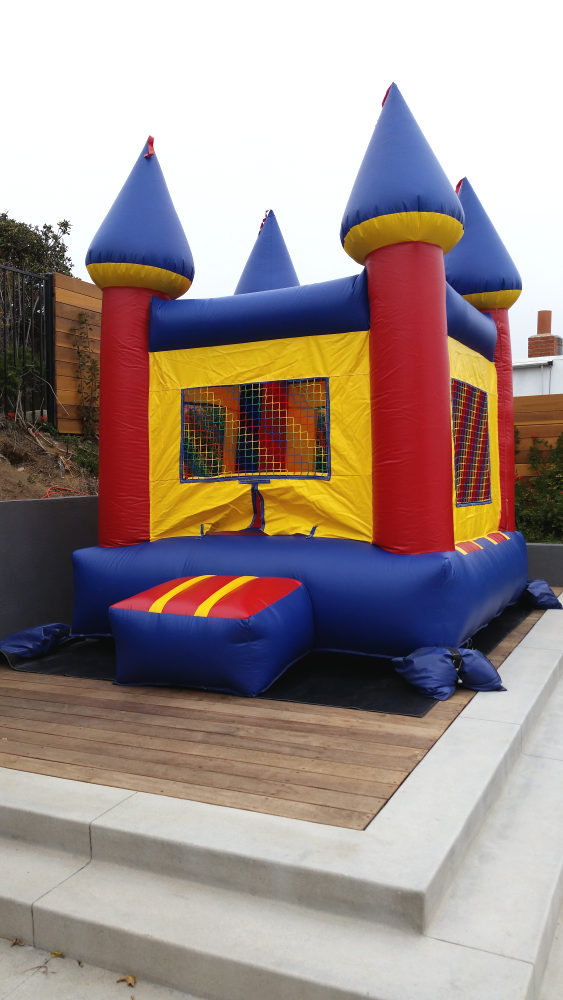 MINI Inflatable Bouncy Castle for rent in Los Angeles