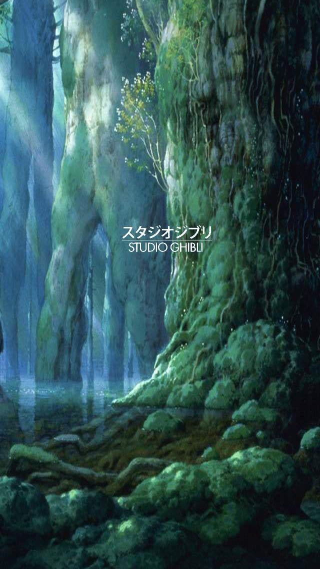 Resultado De Imagem Para Studio Ghibli Graphic Landscape Wallpaper