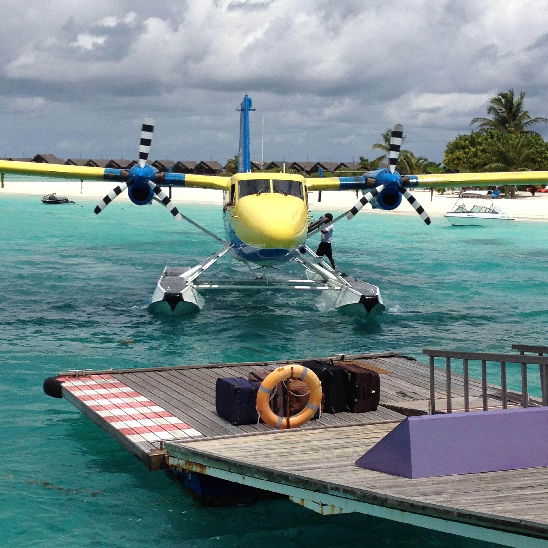 Local Transportation In The Maldives. #Maldives #Seaplane