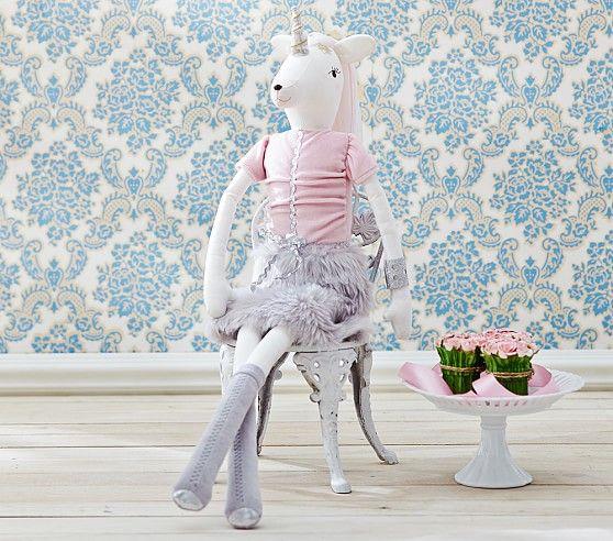 Unicorn Designer Doll Fleur Pottery Barn Kids Toys Dolls
