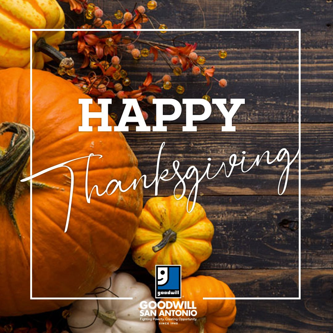 Happy Thanksgiving. As we give thanks to the many team