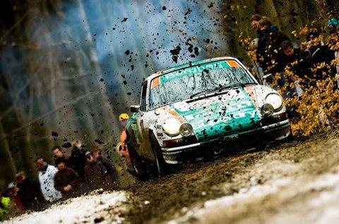 rally racing.