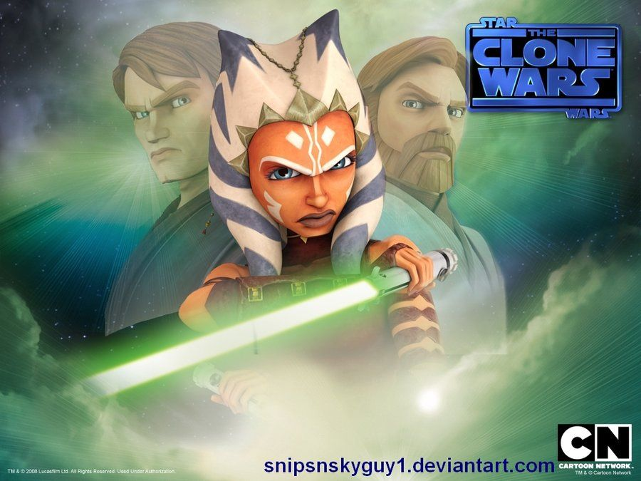 Anakin Skywalker, Ahsoka Tano & Obi-Wan Kenobi, By