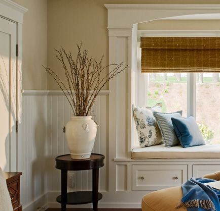 Painting Ideas With Beadboard Wainscoting In The Living Room Project Coastal Nursery