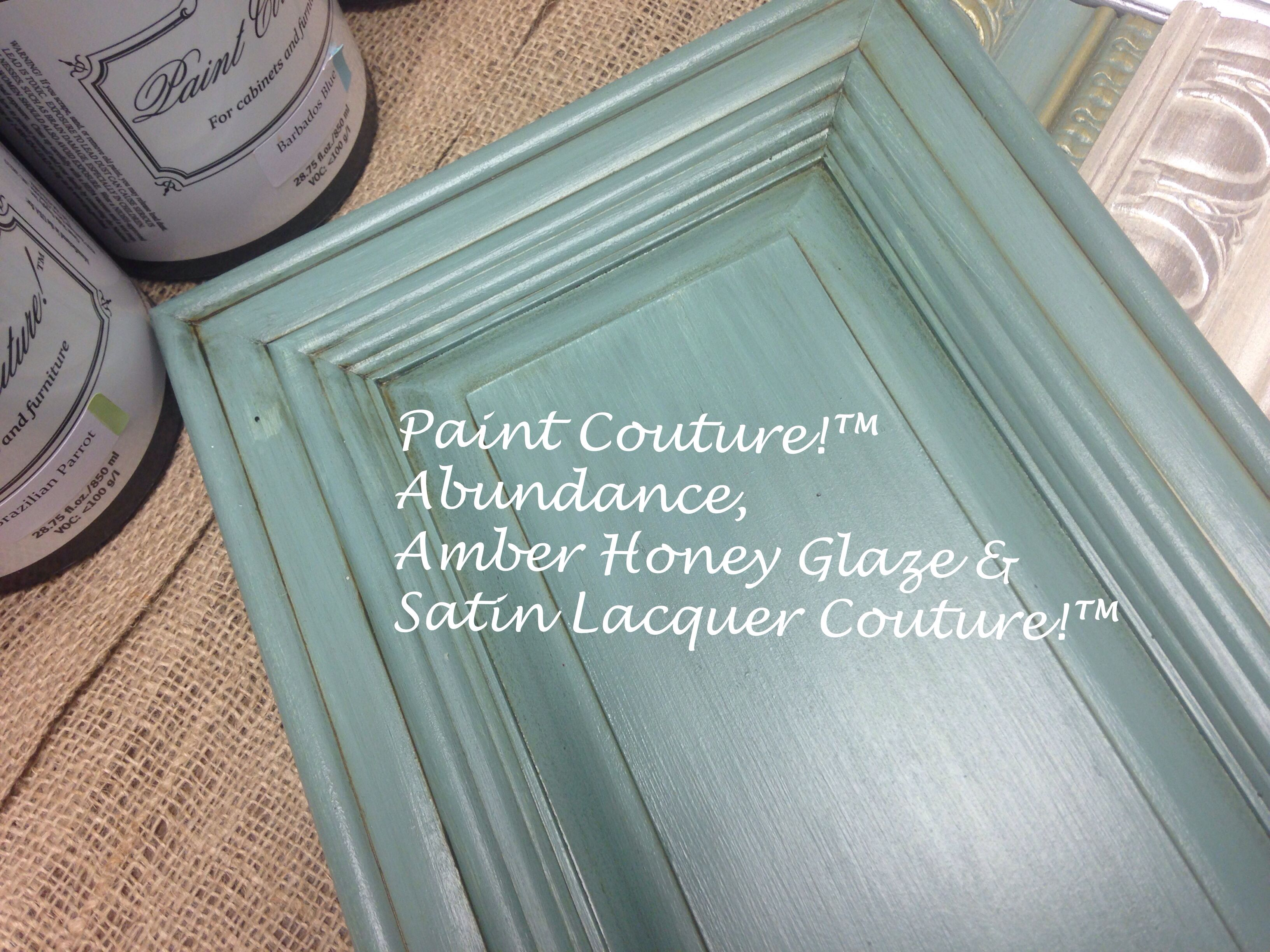 Satin Lacquer Couture!(TM) topcoat, water based & brush able | Hand ...