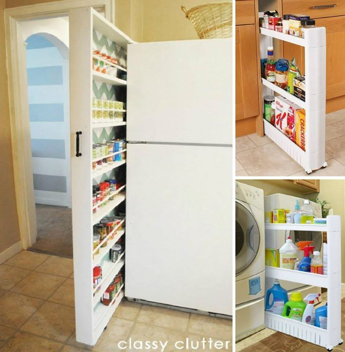 Pull-Out Pantry Cabinet...