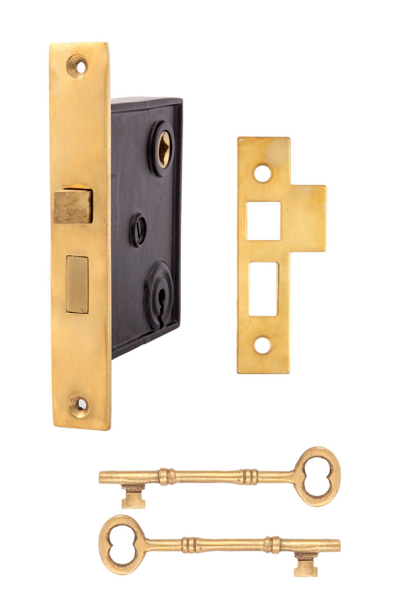 Keyed Mortise Lock 2807 Usxx Charleston Hardware Mortise Lock Antique Doors Mortice Lock