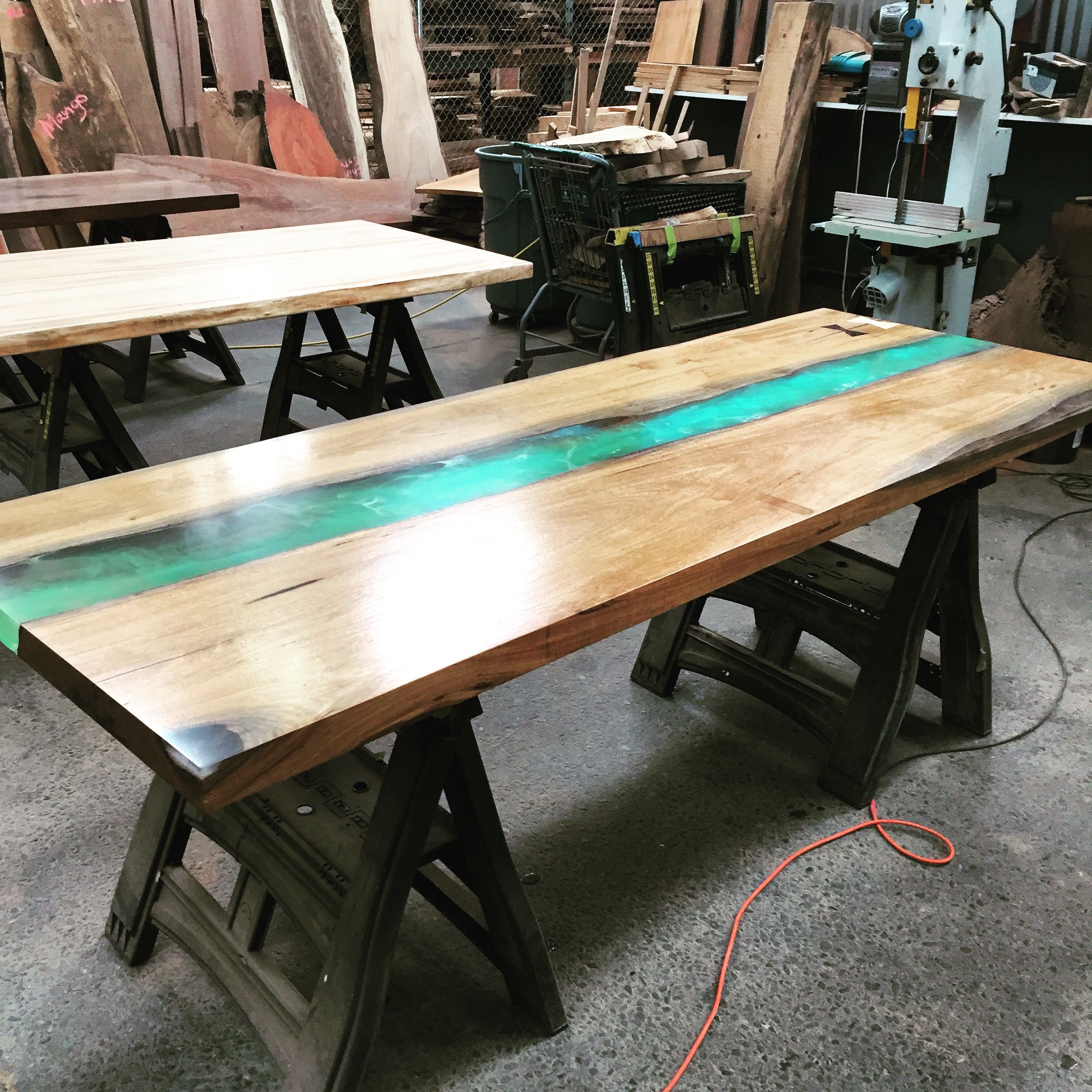 Panama Table Made By Dog And Pig Furniture In Berkeley