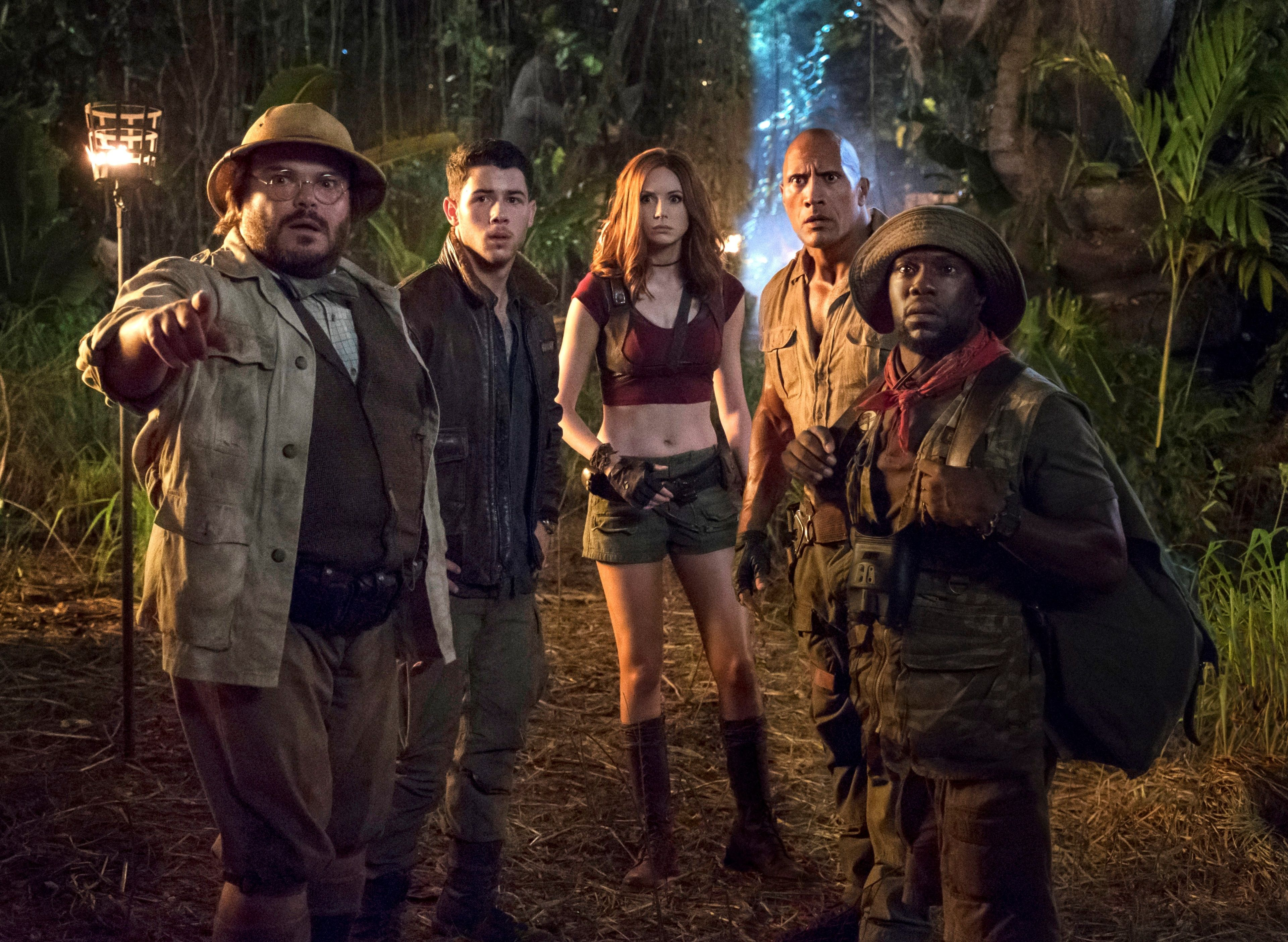 3840x2809 Jumanji Welcome To The Jungle 4k Hd Image For Wallpaper