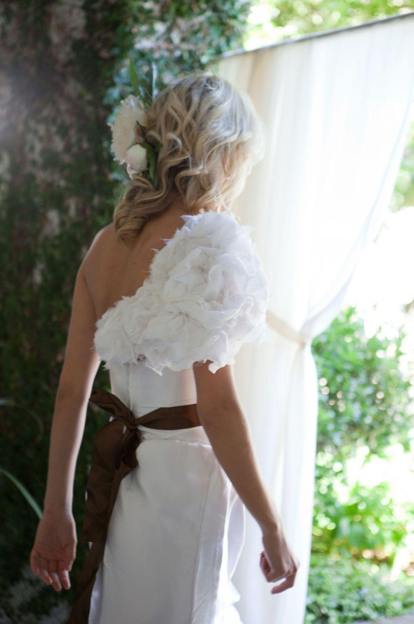 Charleston Wedding Week Custom-made Wedding Gown www.alenafedefashion.com