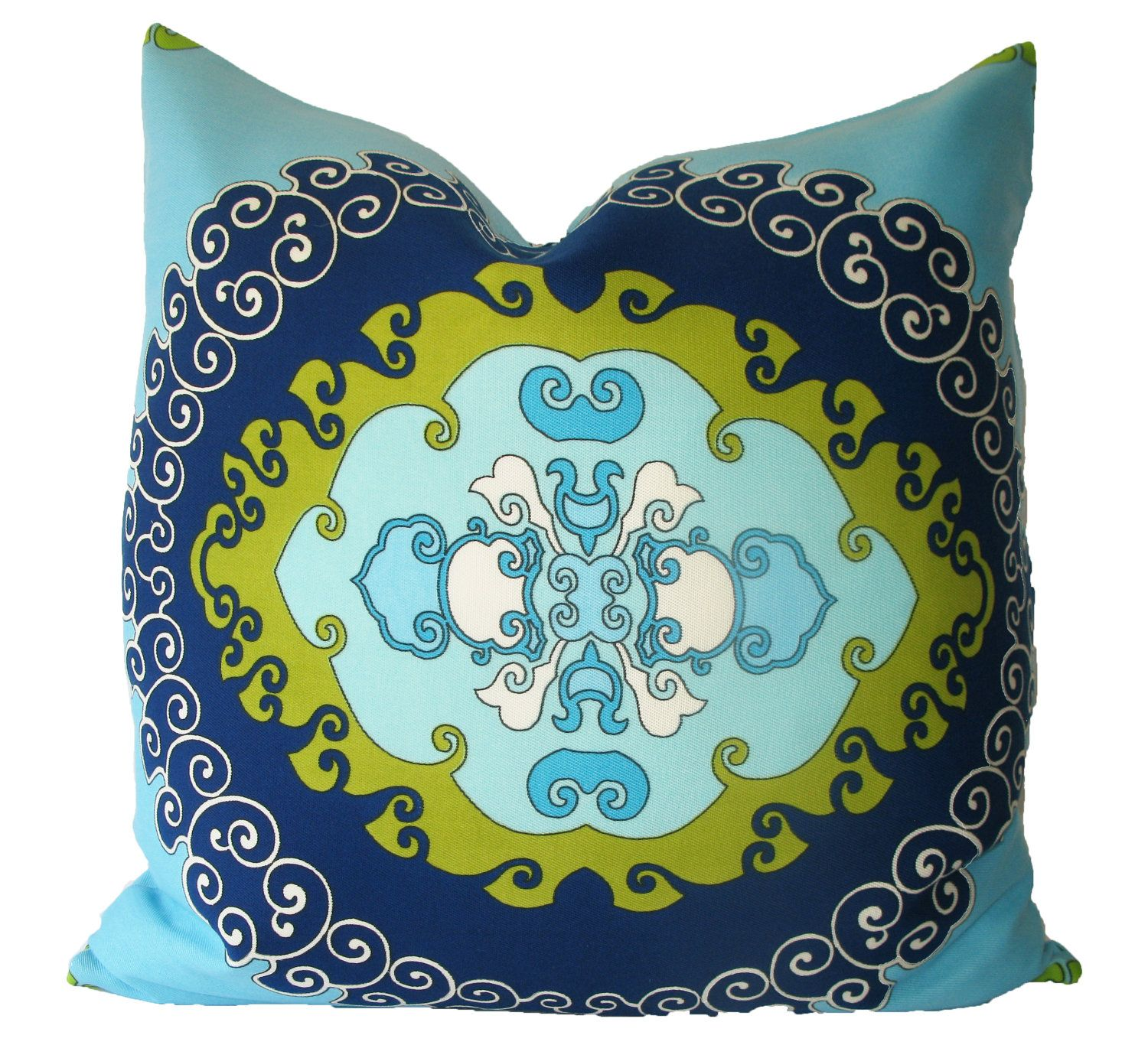 covers pillows cushion block sham printed decorative hand bed euro throw pillow cover pin green
