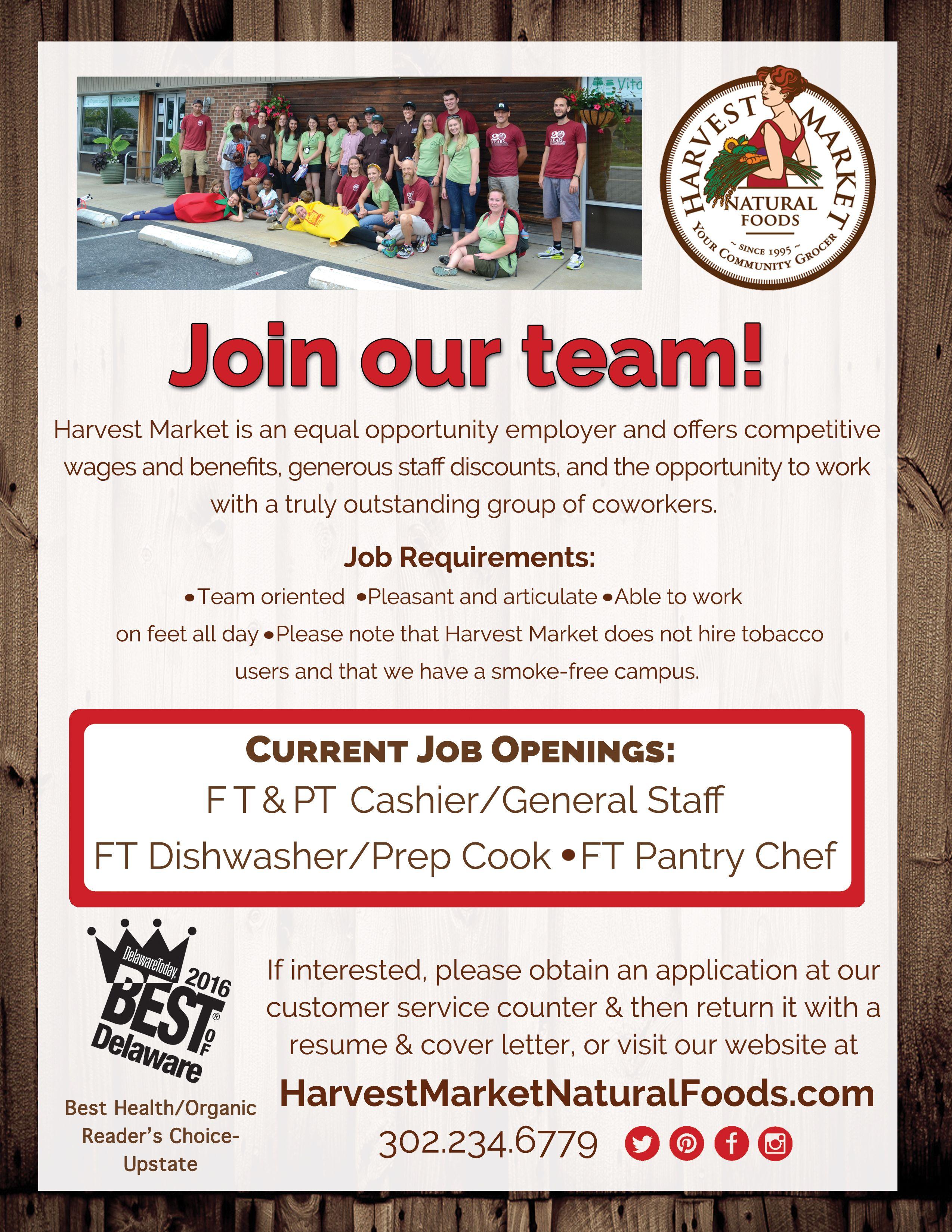 We're Hiring! June 2017 Delawarejobs hiring goodjobs