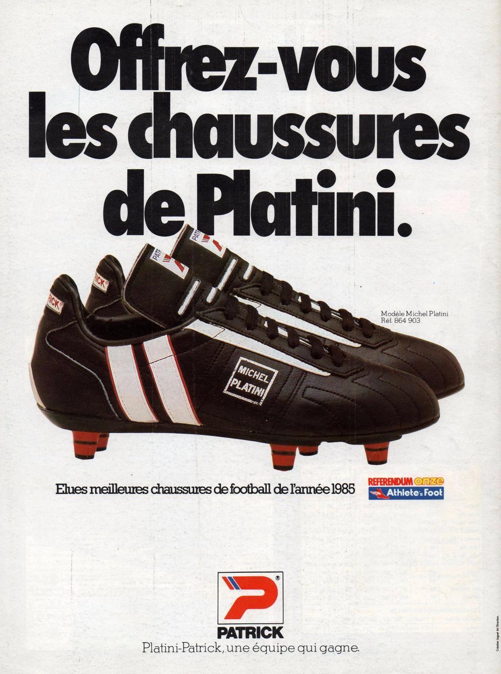 1b1c620e1 Patrick Platini. Patrick Platini Puma Football Boots ...