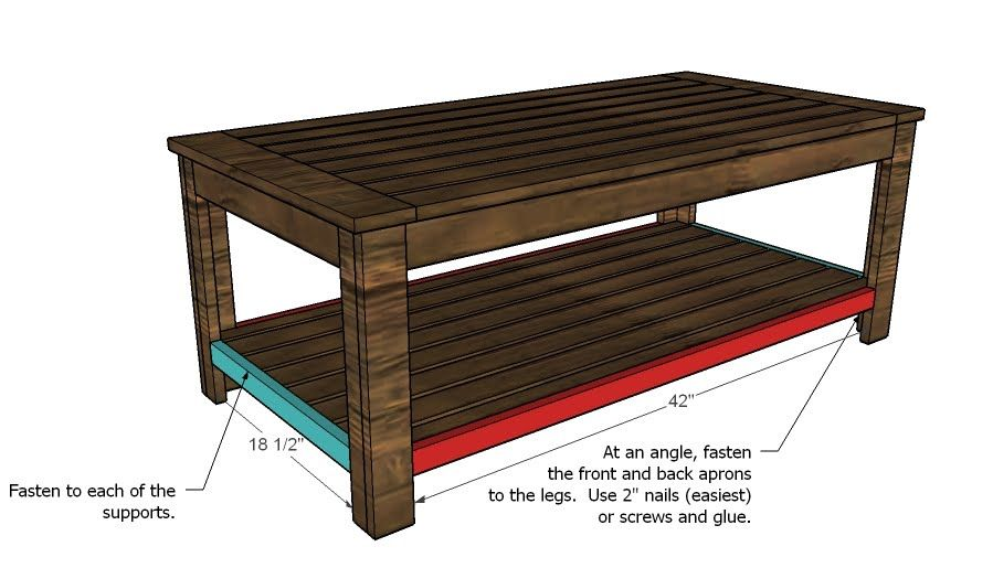 Build an outdoor coffee table hamptons outdoor table