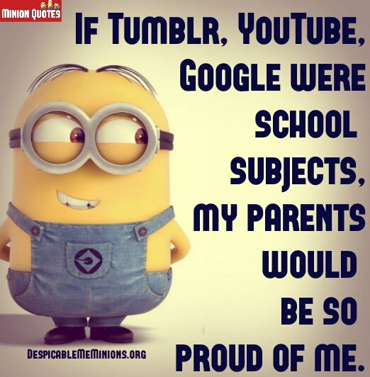 Funny Quotes About School: 9 Funny School Quotes - Minion Quotes