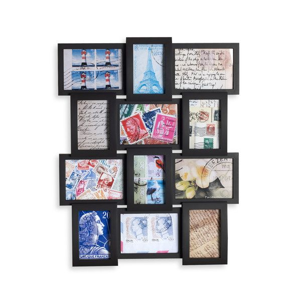 4x6 And 5x7 12 Opening Collage Frame 29 99 Bed Bath And Beyond