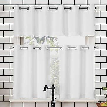 Kitchen Bath Curtains Bed Bath Beyond In 2020 Curtains Kitchen Curtains Small Window Curtains