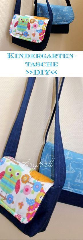 Schnelle und einfache Kindergarten Tasche - Anybell | sewing ...