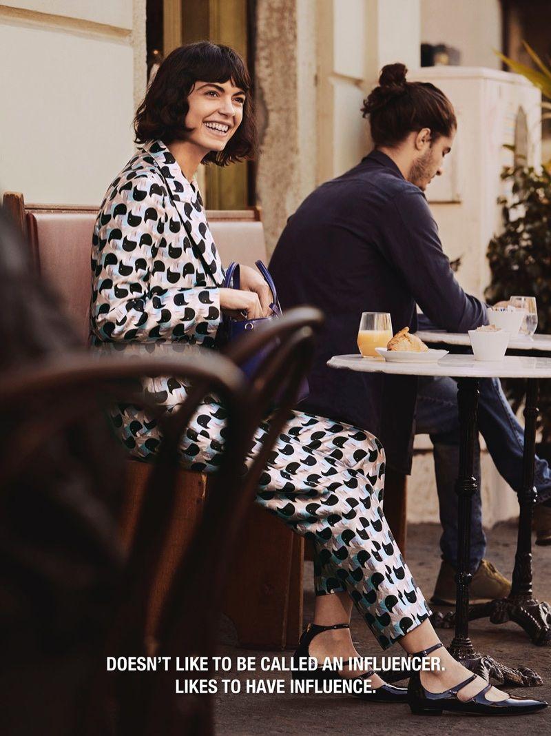Fashion style Spring pradas campaign video stars everyone for lady