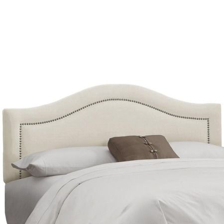 I pinned this Limoges Headboard in Talc from the Skyline event at Joss and Main!
