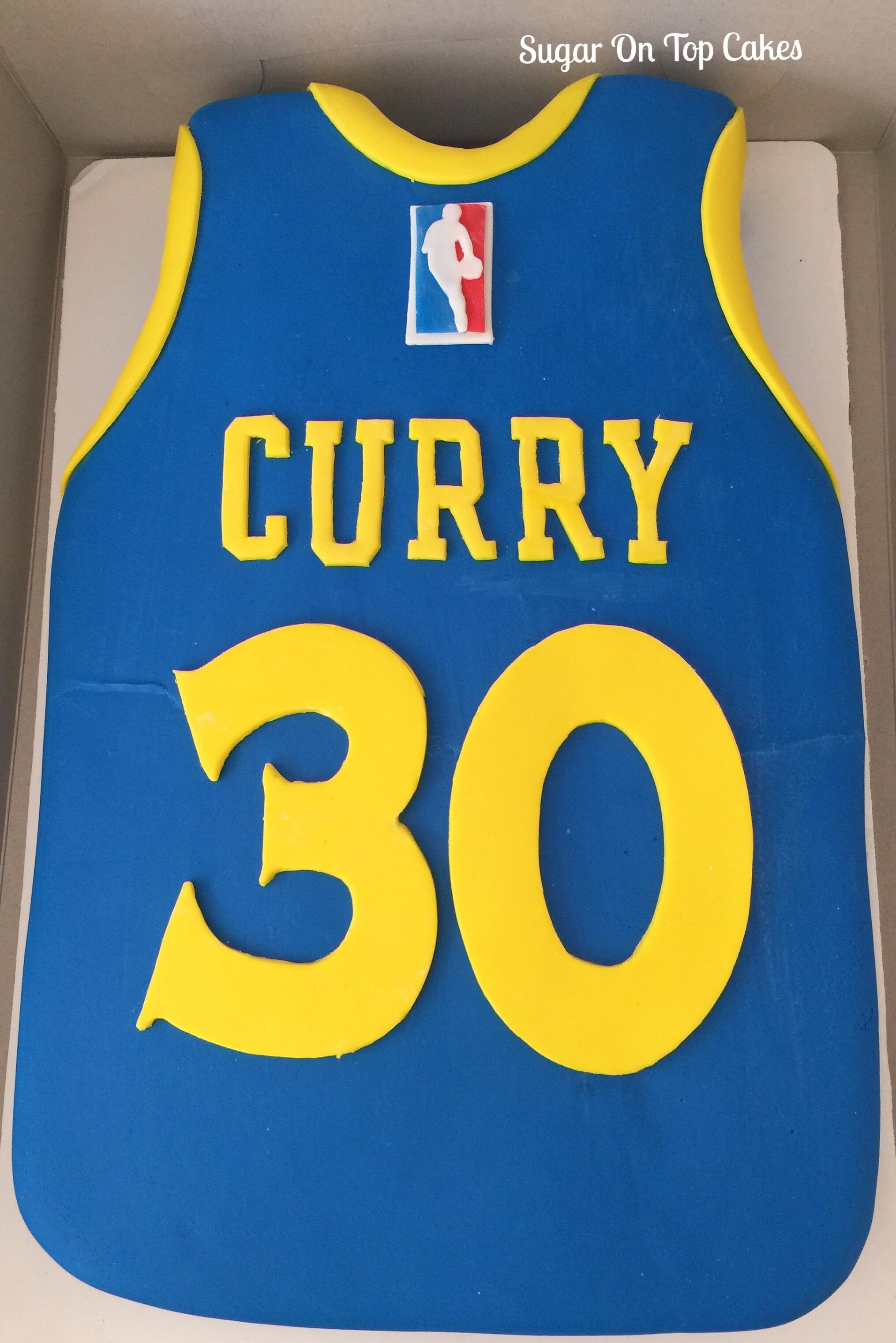 Steph Curry Jersey Cake Facebook Com Sugarontopcakes