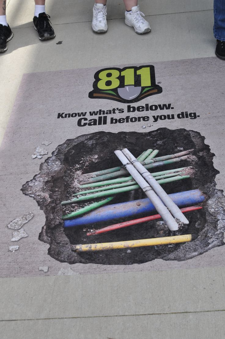 Outdoorsafety tip call before you dig safetyfirst