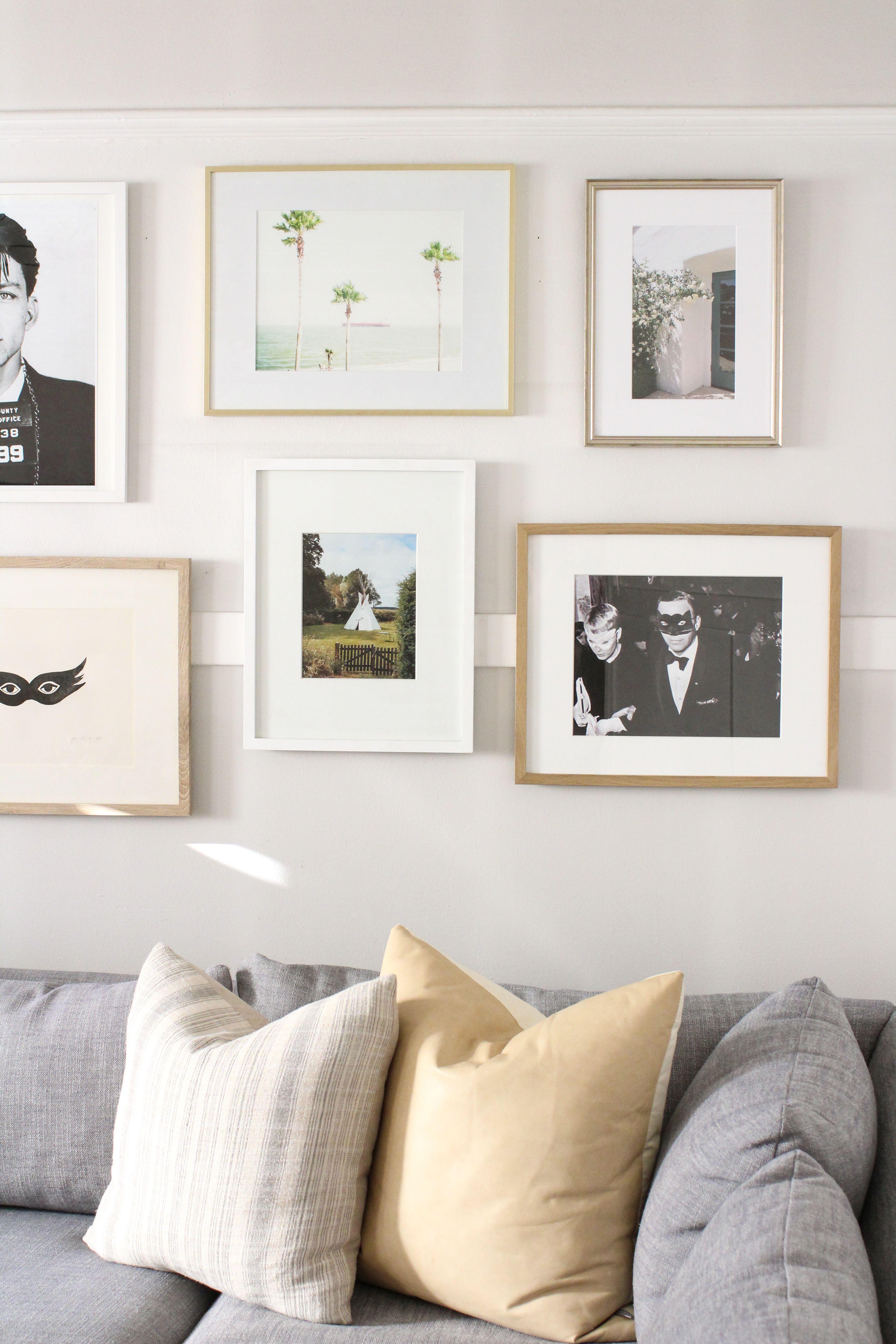 Living Room Gallery Wall Harlowe James Gallery Wall Gallery