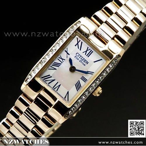 Citizen Eco-drive Rose Gold Bracelet Ladies Watch EW9813-50D ... ac76fbe4e