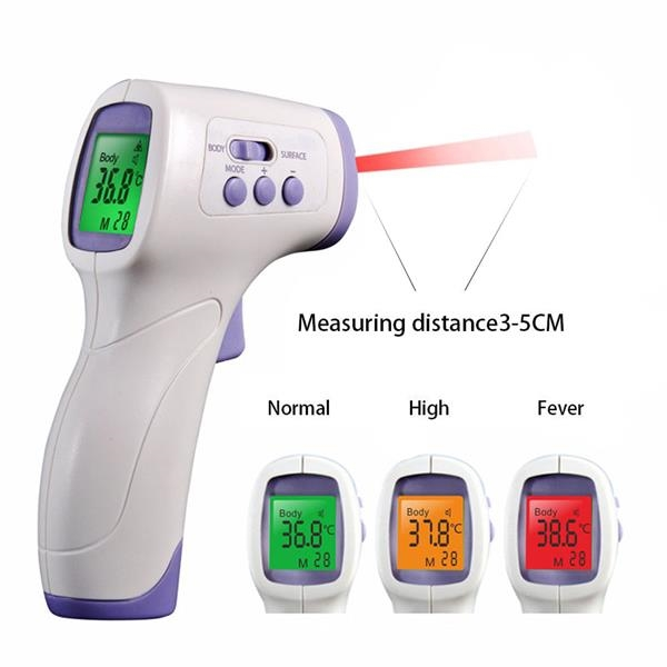 Non Contact Infrared Forehead Thermometer Infrared Thermometer Forehead Thermometer Thermometer