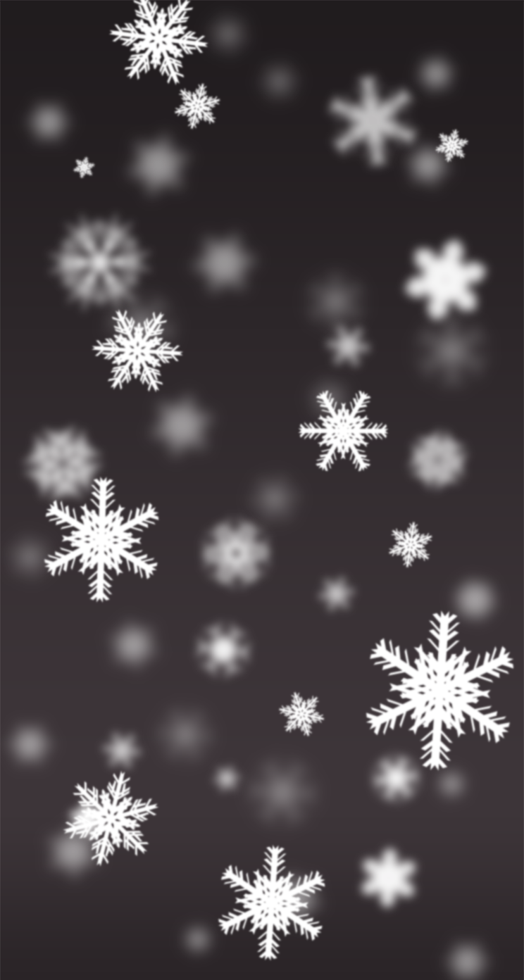 Christmas Snowflakes Wallpaper for iPhone 5/5c/5s on