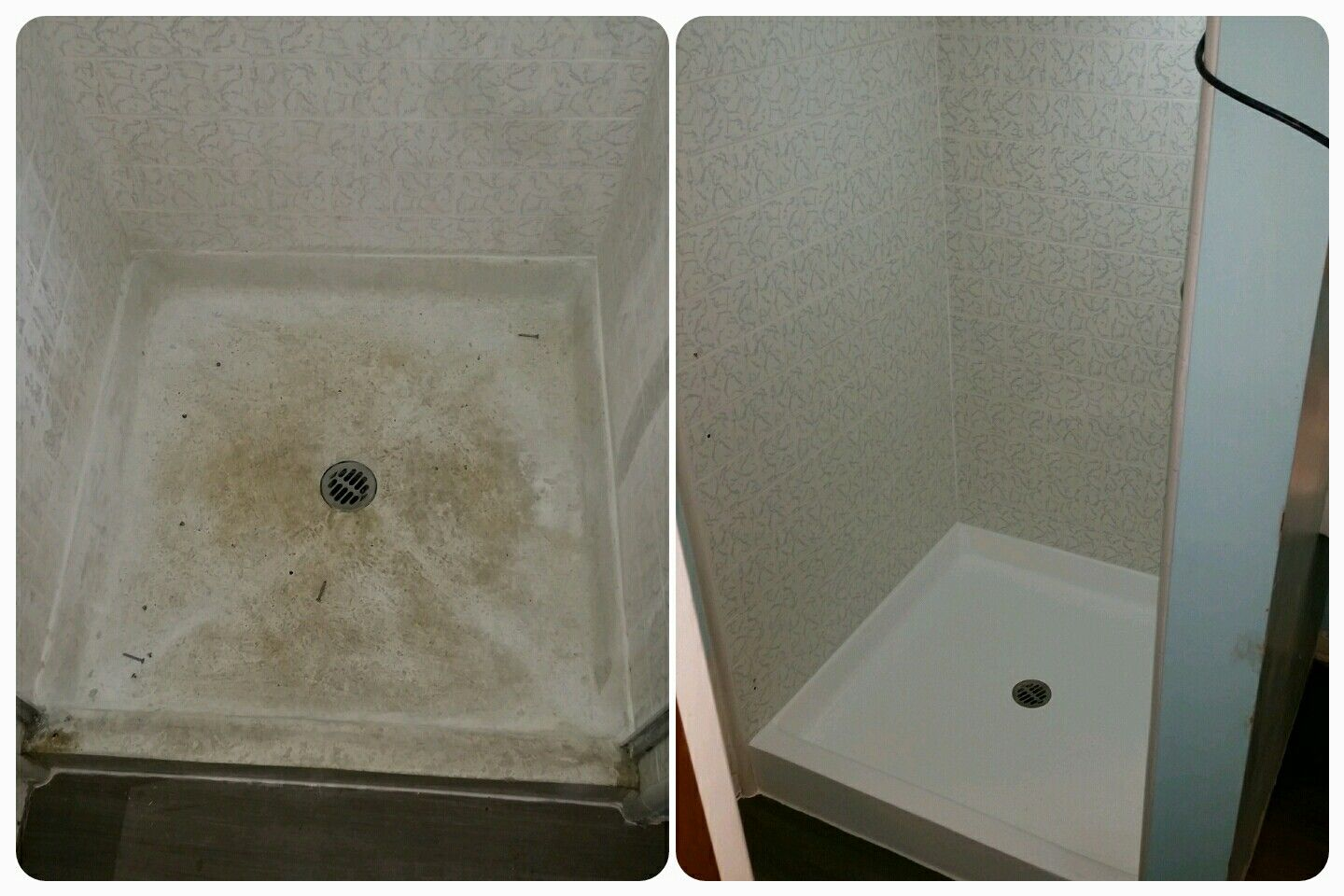 Don T Replace That Worn Out Fiberglass Shower Pan Reglaze It