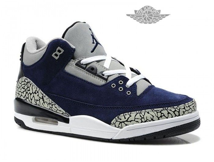 air jordan 3 retro bleu