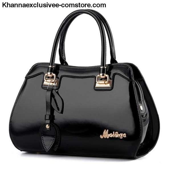 0f643ca156 Ladies new luxury handbag designer fashionable bright leather large  capacity handbag Womens purse – khannaexclusiveoriginalproducts