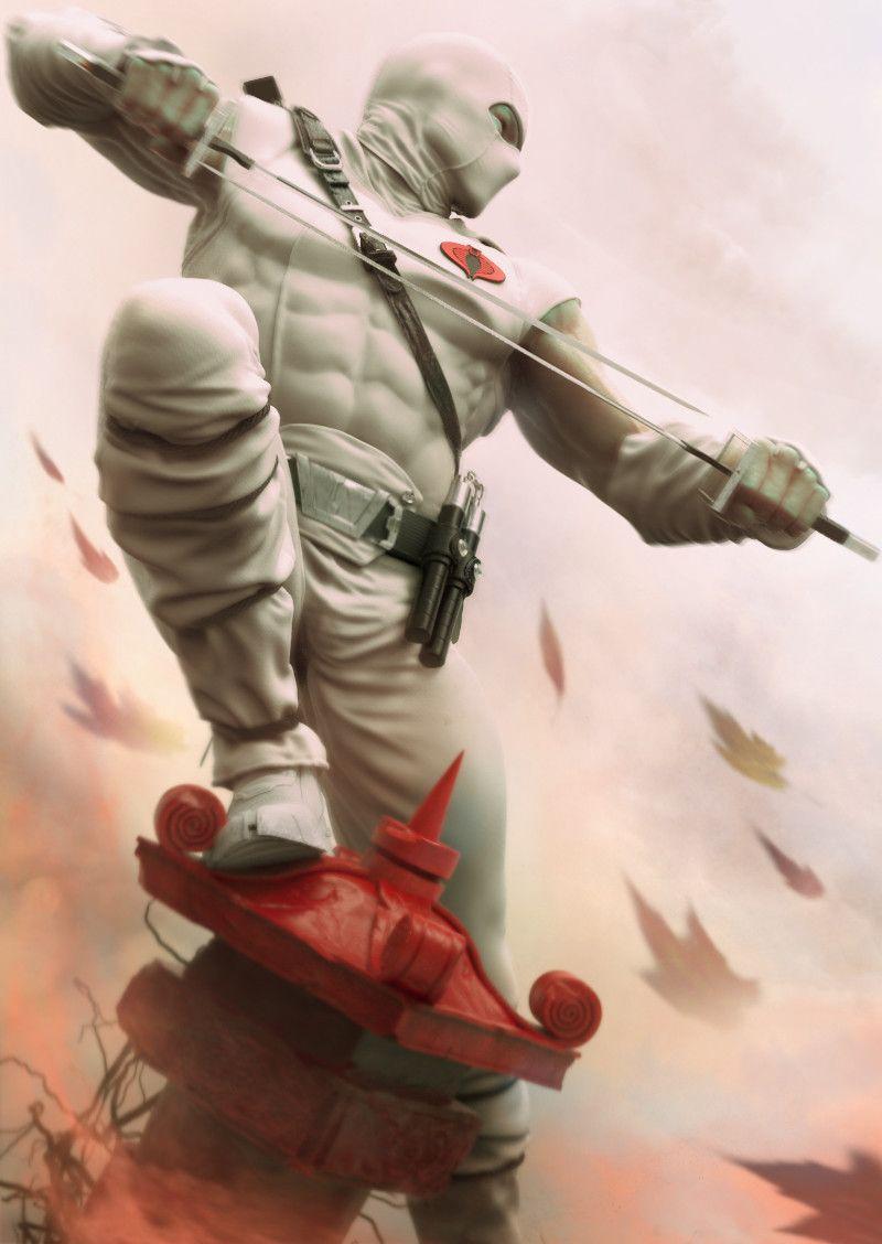 Stormshadow - GI Joe fan art by Alessandro Baldasseroni
