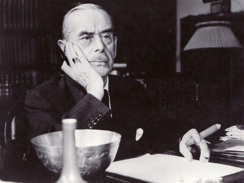 Thomas Mann Thomas Mann Zauberberg Und Schriftsteller