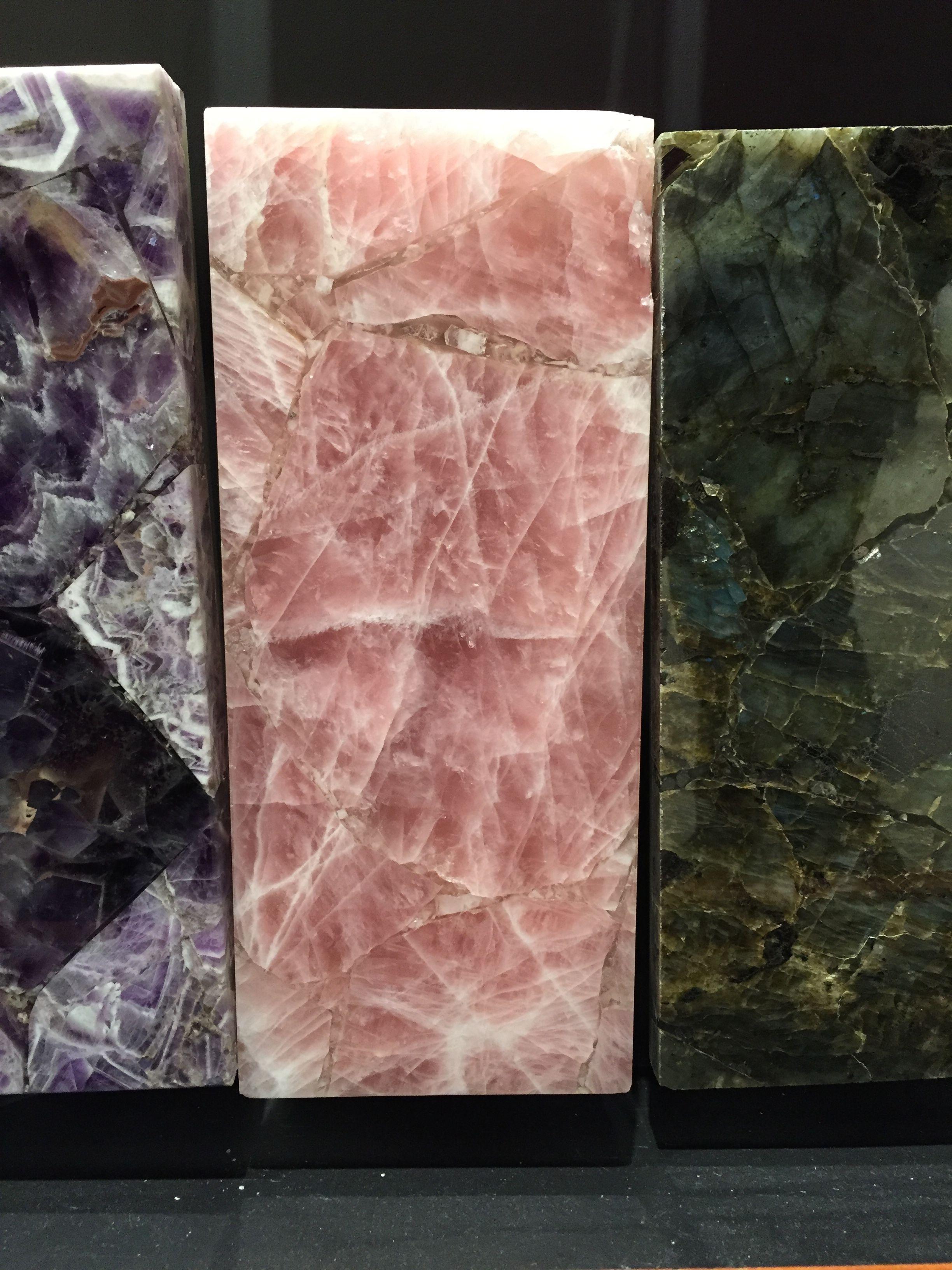 Beautiful Pink Granite Quartz Countertop For Tiffany