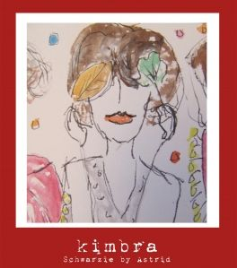 Illustration inspired by Kimbra from Schwarzie by Astrid