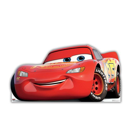 Lightning Mcqueen Cars 3 Cardboard Cutout 2424 Mcqueen Cars 3 Lightning Mcqueen Disney Cars Wallpaper