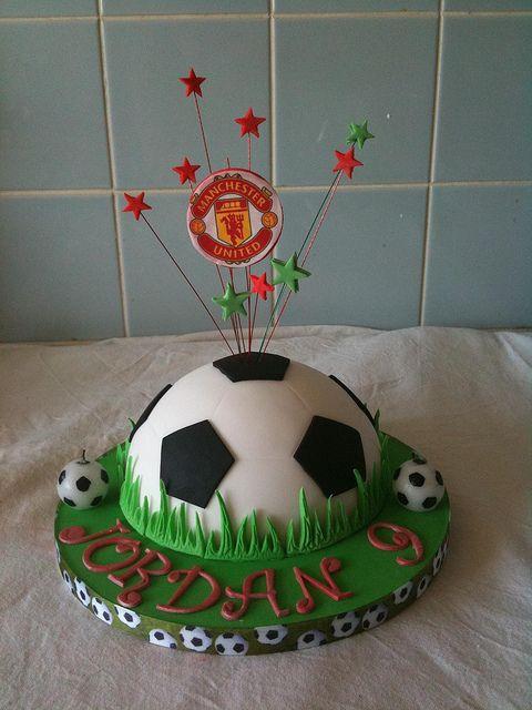 Small Football Cake Masculine Treats For Macho Men Cake