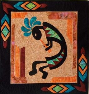 17 Best images about Southwest quilting on Pinterest   Feathers ... : kokopelli quilt pattern - Adamdwight.com