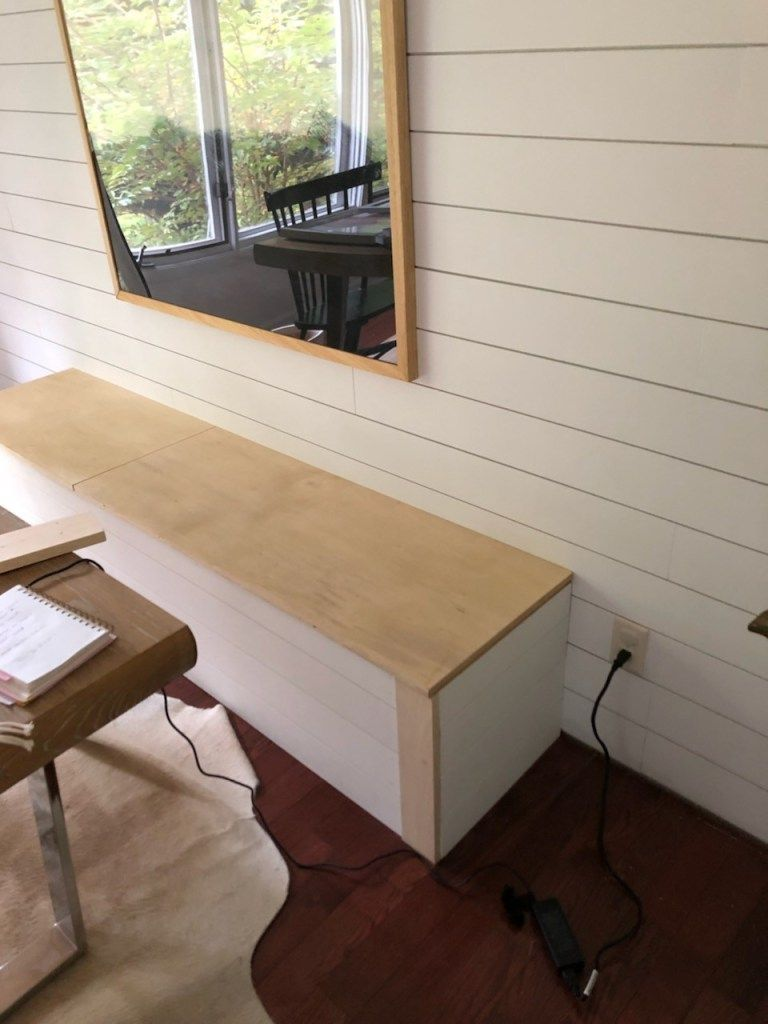 DIY Built-In Dining Bench with Storage - Breakfast Nook Banquette Tutorial