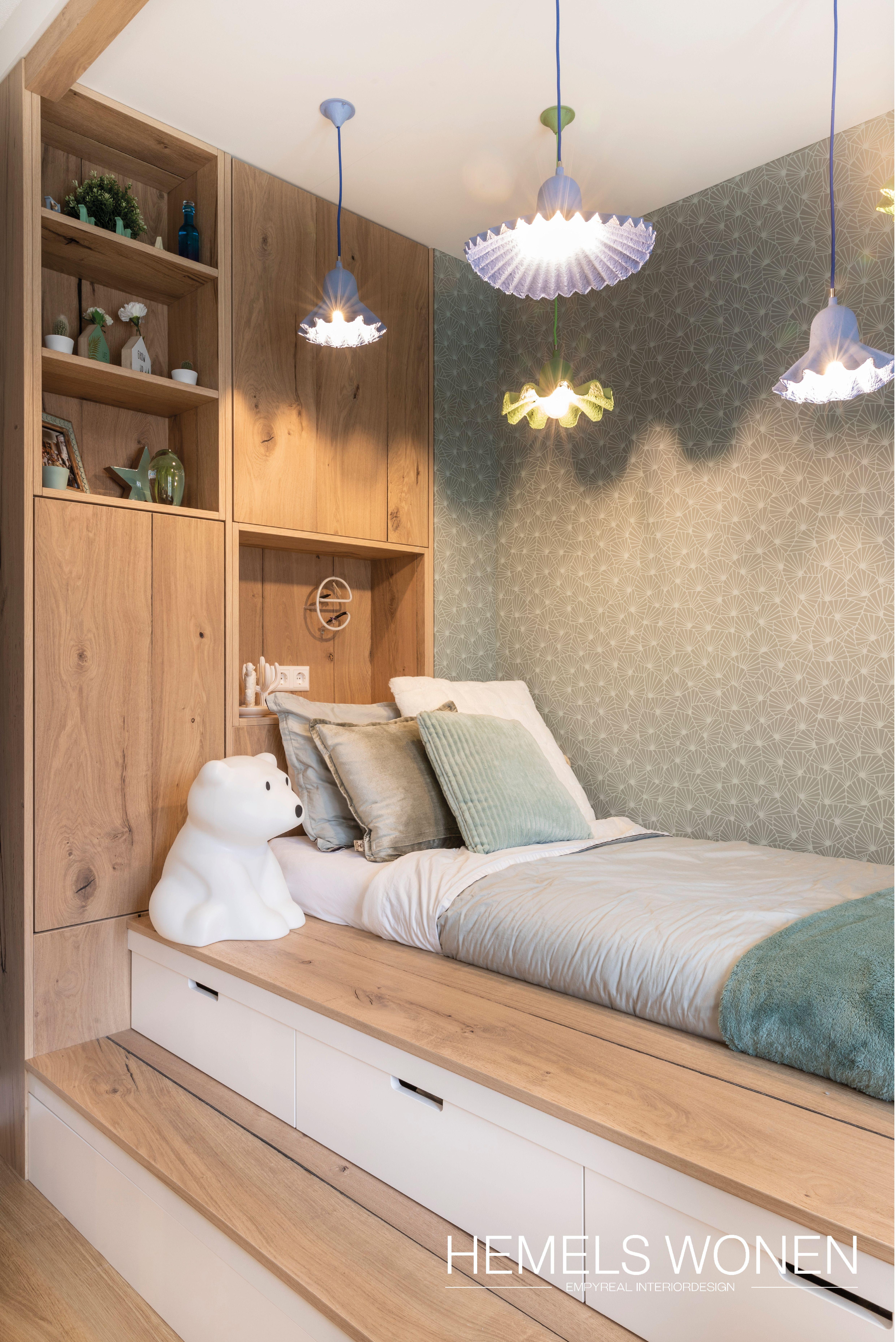 HEMELS WONEN | Children's wooden bed elevation,  #bed #Childrens #elevation #hemels #slaapkamerdecoratie #wonen #Wooden