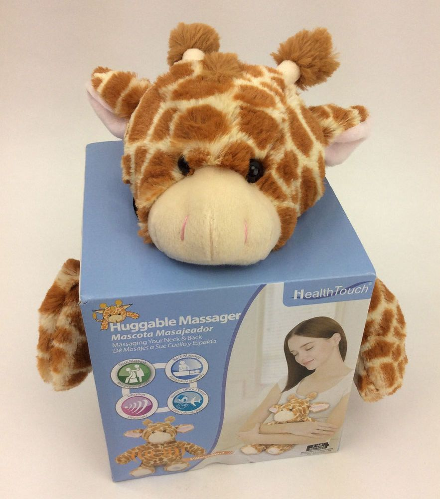 Huggable Massager Giraffe Plush Leader Light Vibrating Stuffed