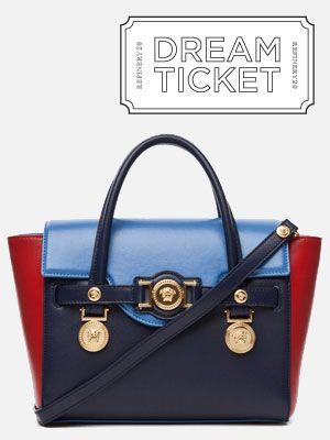 Dream Ticket A Patriotic Versace Bag