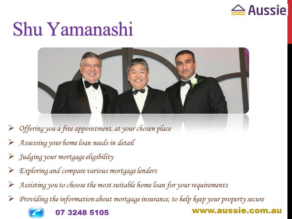Aussie specializes in every kind of investment loan