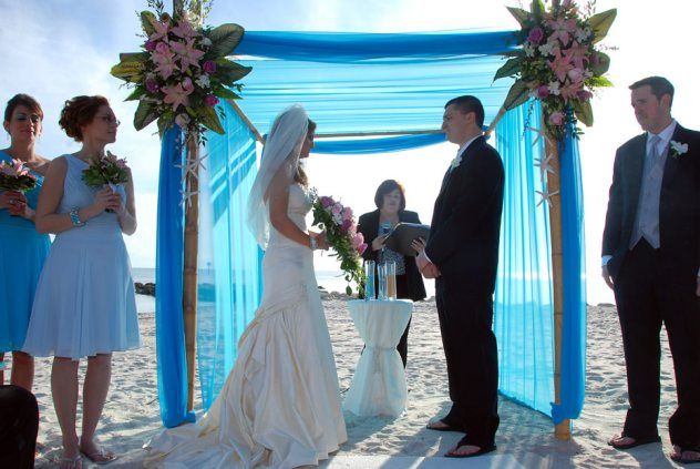 Edith Mike Smathers Beach Ocean Key Resort Wedding