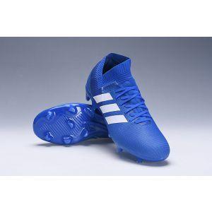 359feab7f605 adidas Nemeziz 18.1 FG Football Blue White Football Blue