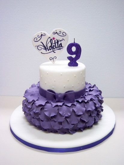 Violeta | cumple violeta | Pinterest