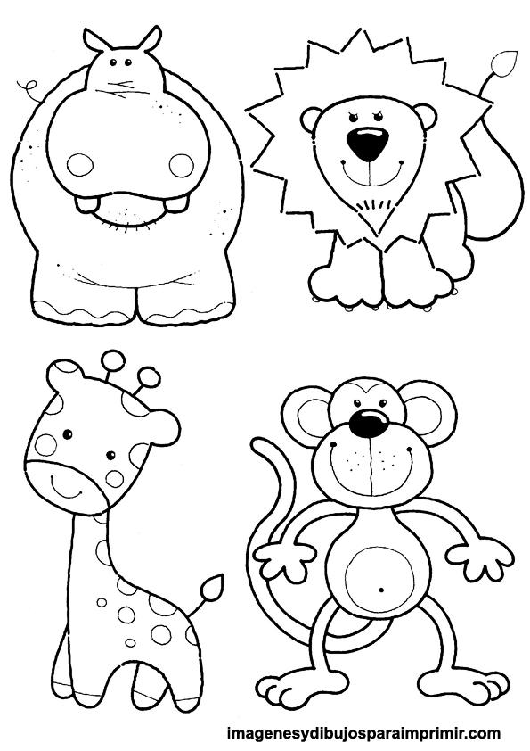 Colorear animales   Bisuteria   Pinterest   Colorear, Animales y ...